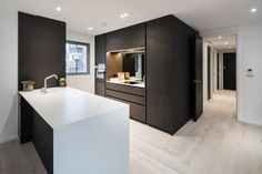 An exclusive residence of eight apartments with one opulent penthouse. Offering a unique, glazed curtain wall façade with oversized windows, the development combined modern architecture with an outstanding specification. With zoned underfloor heating throughout and bespoke cabinetry by Neatsmith of