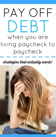 How do you pay off debt on a low income? It can be super discouraging and feel like you are going nowhere. Especially when you are living paycheck to paycheck. Is it possible? We think you can. Grab all our best budget tips and tricks to paying off debt on a low income.