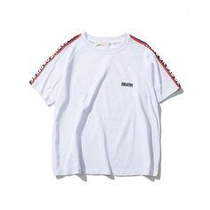 Be Creative or Die on Sleeve Oversized Off Shoulder Mens T-shirt Short Sleeve 2017 Summer Streetwear Hip Hop Tshirts Men Clothes