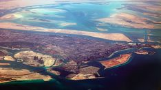 100 Incredible Views Out Of Airplane Windows. Abu Dhabi, UAE