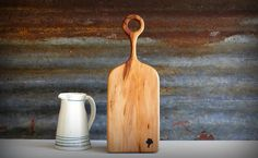 Cutting Board - Apple Wood Small, heavy and very delicate!  That is where this little beauty is about... A pearl for your homestead and kitchen or as a startling gift.  It's my pleasure, to create my boards with the use of very, very novel species of wood which are a bit challenging to find.  All the wood used is food safe, and have spent at least 2 months in a kiln. In this slow drying process, potential bugs and molds are eliminated.