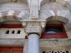 İlyas Bey Külliyesi, main entrance, near Milet (Miletus / Miletos) Ancient City, Turkey