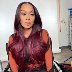 Baddie Hairstyles, Black Girls Hairstyles, Weave Hairstyles, Pretty Hairstyles, Pretty Hair Weave, Curly Hair Styles, Natural Hair Styles, Fire Hair, Different Hair Colors