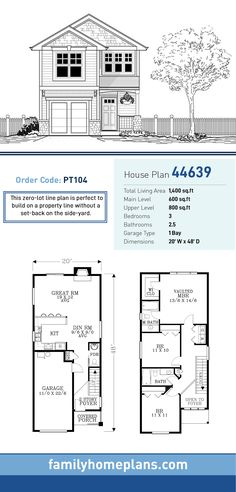55 Best Narrow Lot Home Plans images | House plans, Narrow ... Narrow Lot House Plans With Front Garage Pool on narrow hillside house plans, narrow 3 story house, modern house garage, side entry garage, small house with garage, narrow houses with front porches, narrow urban row house plans, tri-level front garage, narrow row house floor plans, rancher house plans side garage, narrow lot landscaping, narrow width floor plans, narrow pergola for front porch, narrow townhouse plans, curb appeal with front garage, narrow lot modern house design, house with side load garage, spanish style home front garage, modular home plans with garage, narrow house layout,
