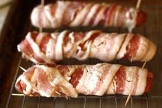 pinning weekly!: Bacon Cheese Dogs! #Bacon #BaconLover
