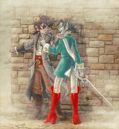 """""""The day she almost caught CAPTAIN KARKAT VANTAS."""" - syblatortue.deviantart.com WOW they have so much amazing Homestuck art"""