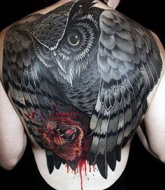owl tattoos 12