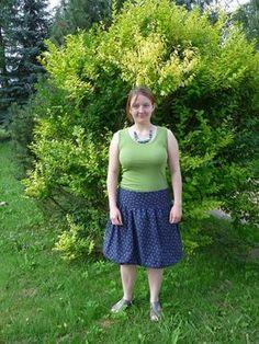Balonová sukně (fotonávod) | Blog Jany Trávníčkové