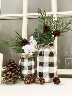 Bring in the cozy & comfy vibe in your holiday home decor. Here are the best Farmhouse Christmas decorations, which are country style Rustic Christmas decor After Christmas, Plaid Christmas, Christmas Holidays, Christmas Music, Christmas Movies, Christmas Lights, Christmas Sweets, Christmas Christmas, Mason Jar Christmas