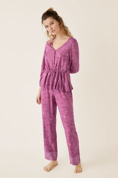 Prendas de dormir y homewear: Pijamas, camisones, batas... | Women'secret Sleepwear Sets, Sleepwear Women, Loungewear, Night Suit For Women, Pijamas Women, Womens Pyjama Sets, Fairytale Dress, Western Dresses, Indian Designer Wear