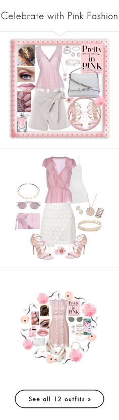 """""""Celebrate with Pink Fashion"""" by ragnh-mjos ❤ liked on Polyvore featuring contest, Pink, Topshop, Casadei, Tod's, Casa Reale, Effy Jewelry, Pinko, Bling Jewelry and Nadri"""