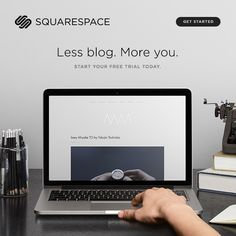 Better websites for all. #Squarespace