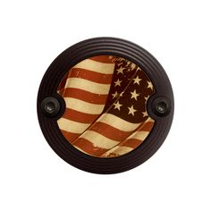 Black Classic Style Vintage U.S. Flag Horn Cover