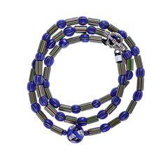 Venetian Chevron, Faced Millefiori #1305 | Chains | Jewelry — Deco Art Africa - Decorative African Art