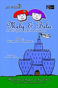 MELY & BELA. A series created with the aim to make children discover the wonderful world of two little princesses, Mely and Bela, and learn together with them about friendship, good manners, good behaviour, common sense, through their fun and mysterious adventures. The playful bilingual reading and the funny illustrations will definitely charm the parents too. First episode of a delightful little books series for every little girl aged 3-6 who wish to become a little princess one day.