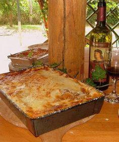 Lasagne bolognai mártással