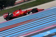 Sebastian Vettel, Ferrari SF15-T,  Paul Ricard January testing