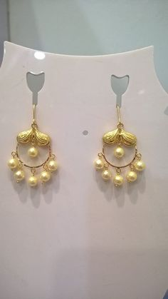 indian gold earrings for kids – Fashion Kid Gold Earrings For Kids, Kids Earrings, Small Earrings, Pearl Drop Earrings, Indian Jewelry Sets, Indian Wedding Jewelry, India Jewelry, Bridal Jewelry, Ruby Jewelry