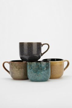 Reactive Glaze Mug. $8.00 at Urbanoutfitters