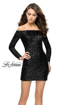 0106b8a003 La Femme Short Cocktail 26662 Chic Boutique: Largest Selection of Prom,  Evening, Homecoming, Quinceanera, Cocktail dresses & accessories.