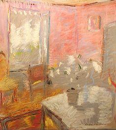 "bofransson: "" Rose Hilton, 'White Flowers', pastel on paper "" Trois Crayons, Paintings I Love, Love Painting, Oil Paintings, Dappled Light, Wow Art, Still Life Art, Medium Art, White Flowers"
