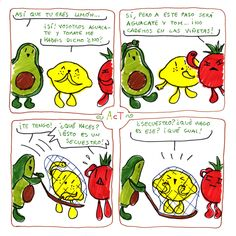 ~ AcT ~ 8 #aguacatecontomate #aguacate #tomate #limon #comic #humor