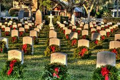 National Cemetary in St. Augustine @ sunrise 12/31/12