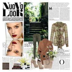 """""""Tartan fall"""" by the-wardrobe-of-wishes ❤ liked on Polyvore featuring Ralph Lauren Blue Label, SuperTrash, Vince, Alexander Wang, Giuseppe Zanotti, PLANT, Kate Spade, INC International Concepts, Bobbi Brown Cosmetics and ankle boots"""