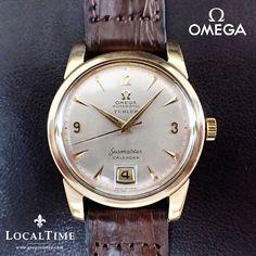 1953 Omega [Swiss] Türler Seamaster Calendar Dress Watch, Automatic Omega Cal. 355, SN # 1382222