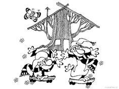 Křemílek a Vochomůrka omalovánky | i-creative.cz - Kreativní online magazín a omalovánky k vytisknutí Coloring Books, Coloring Pages, Fantasy World, Fairy Tales, Illustration, Worksheets, Carnavals, Vintage Coloring Books, Quote Coloring Pages
