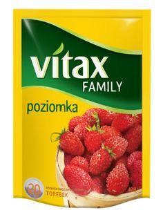 Family Poziomka Herbata ekspresowa  • wygodne, okrągłe torebki • bogaty smak i aromat • naturalnie słodki smak