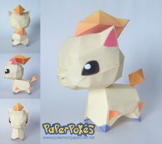 Looks exactly like the Pokemon Rumble Ponyta!