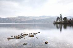 Dead calm at Derwentwater, Lake District