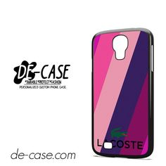 Lacoste Pattern DEAL-6254 Samsung Phonecase Cover For Samsung Galaxy S4 / S4 Mini