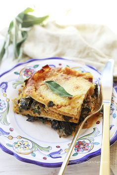 This savory pumpkin and chard lasagna is a great make-ahead fall dinner. Seasoned with sage and nutmeg, this recipe is a fall must. I've included vegan and gluten-free options at the end of the recipe.  Last night we celebrated Yummy Hubby's birthday with an al fresco dinner party. I am excited to share all the …