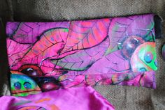Pretty in Pink  Lady bug envelope  clutch by JLMarshallDesigns, $100.00 SOLD