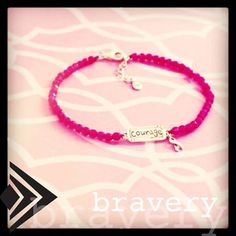 """Silpada Bravery bracelet will be available for order Sept 23, 2013-Oct 31, 2013. Price is $39 and $10 from each sale benefits Living Beyond Breast Cancer! Order yours today and help me contribute to the cause! Visit www.mysilpada.com/jennifer.blake1 to order or ask me about hosting a """"pink party"""" for breast cancer awareness month and get your bracelet for free!!"""