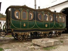The Portuguese Queen Maria Pia's carriage dates from 1858
