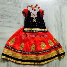 Kundan Lehenga Velvet Blouse - Indian Dresses