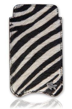 Telefoonhoesjes+|+iPhone+5+&+5S+|+Klassiek+zebra+iPhone+5+hoesje+