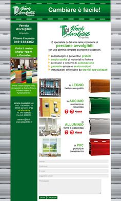 Veneta Avvolgibili - #Web #Marketing #landingpage
