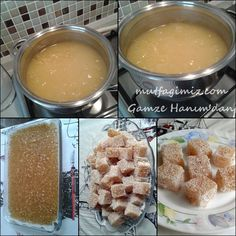 lokum Homemade Jelly Beans, Yummy Snacks, Yummy Food, Cheesy Pull Apart Bread, Joy Of Cooking, Indian Sweets, Turkish Delight, Turkish Recipes, Iftar