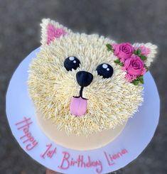 Cakes, Cupcakes & Cookies — Vanilla Pod Dog Cupcakes, Cupcake Cookies, 13 Birthday Cake, Birthday Ideas, Dog Bakery, Vanilla Cookies, Valentine Cake, Happy 1st Birthdays, Puppy Party