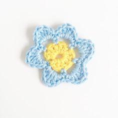 Super Simply Crochet Flower Pattern