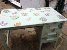 Recicled desk   Made by ME!