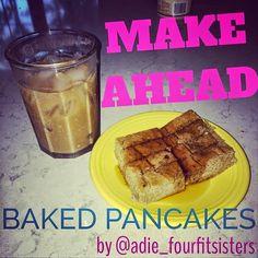 Four Fit Sisters: Paleo Banana Make-Ahead Pancakes