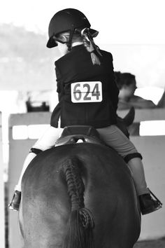 Horse Show - makes me want to adopt a little girl to go to horse shows with. Maybe Bryn or Lorelei will ride.