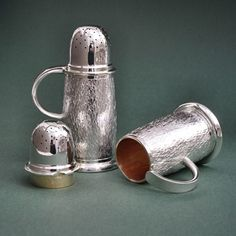 Silver Pepper Shakers