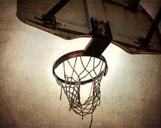 Vintage Basketball Hoop  8x10 print ,Decorating Ideas, Wall Decor, Wall Art, MVP, Kids Room, Nursery Ideas, Gift Ideas,. $20.00, via Etsy.