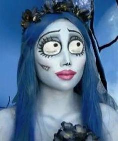 Maquillaje inspirado en La Novia Cadáver